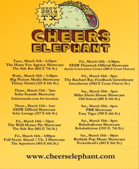 CheersElephant, SXSW, Life-is-Awesome.net